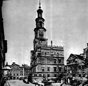 Stary Rynek w Poznaniu, Waga Miejska, zdjęcie archiwalne
