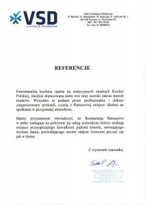 Referencje VSD-1