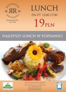 Najlepszy lunch w Poznaniu – restauracja Ratuszova