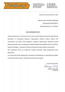 referencje dla Restauracji Ratuszova-1
